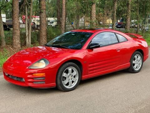 2000 Mitsubishi Eclipse for sale at Next Autogas Auto Sales in Jacksonville FL