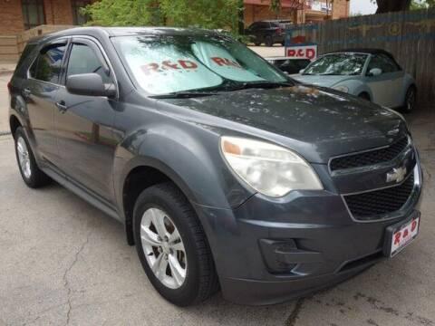 2011 Chevrolet Equinox for sale at R & D Motors in Austin TX