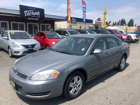 2008 Chevrolet Impala for sale at Tacoma Autos LLC in Tacoma WA
