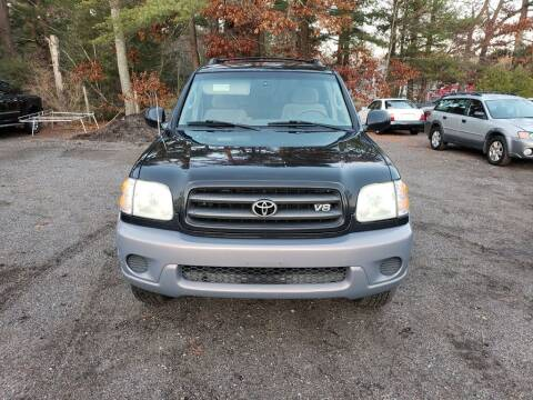 2002 Toyota Sequoia for sale at 1st Priority Autos in Middleborough MA