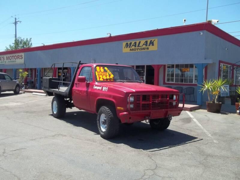 1986 Chevrolet D30 for sale at Atayas Motors INC #1 in Sacramento CA