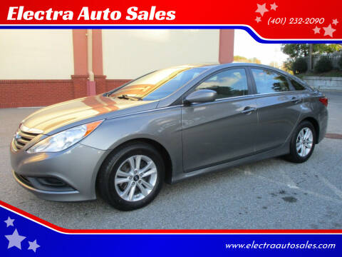 2014 Hyundai Sonata for sale at Electra Auto Sales in Johnston RI