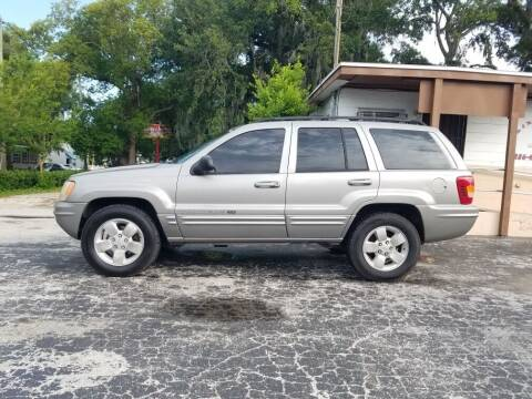 2001 Jeep Grand Cherokee for sale at M & M Used Cars LLC in Daytona Beach FL