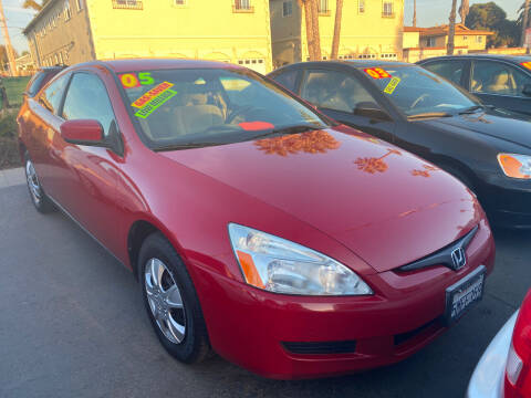 2005 Honda Accord for sale at North County Auto in Oceanside CA