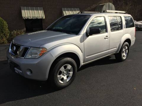 2009 Nissan Pathfinder for sale at Depot Auto Sales Inc in Palmer MA