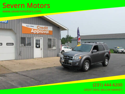 2011 Ford Escape for sale at Severn Motors in Cadillac MI