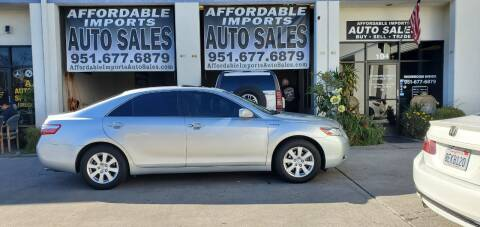 2007 Toyota Camry Hybrid for sale at Affordable Imports Auto Sales in Murrieta CA