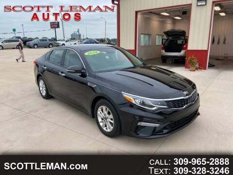 2019 Kia Optima for sale at SCOTT LEMAN AUTOS in Goodfield IL