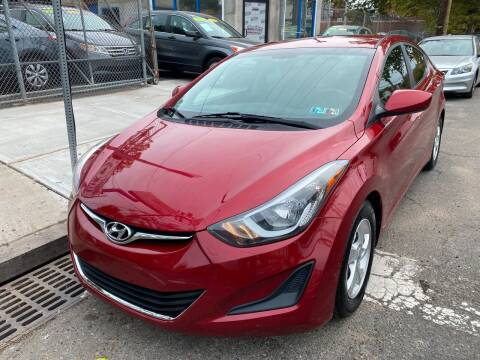 2014 Hyundai Elantra for sale at DEALS ON WHEELS in Newark NJ