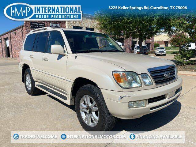 2005 Lexus LX 470 for sale at International Motor Productions in Carrollton TX