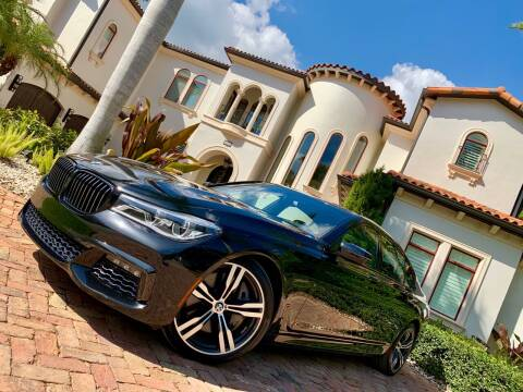 2018 BMW 7 Series for sale at Mirabella Motors in Tampa FL