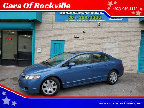 2009 Honda Civic for sale at Cars Of Rockville in Rockville MD