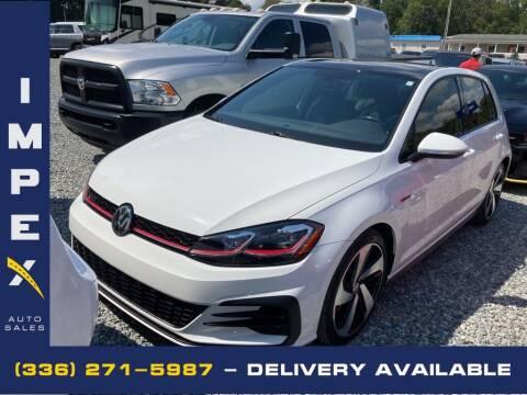 2018 Volkswagen Golf GTI for sale at Impex Auto Sales in Greensboro NC