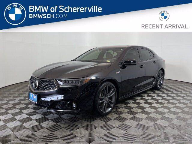 2019 Acura TLX for sale at BMW of Schererville in Schererville IN