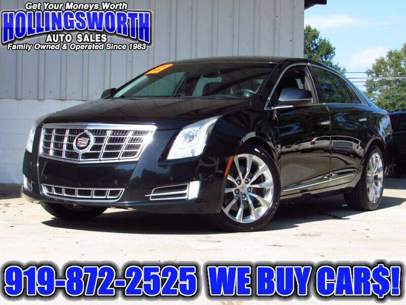 2015 Cadillac XTS for sale at Hollingsworth Auto Sales in Raleigh NC