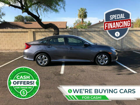 2016 Honda Civic for sale at UR APPROVED AUTO SALES LLC in Tempe AZ