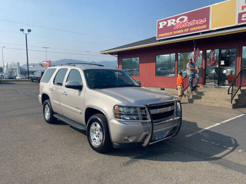 2008 Chevrolet Tahoe for sale at Pro Motors in Roseburg OR