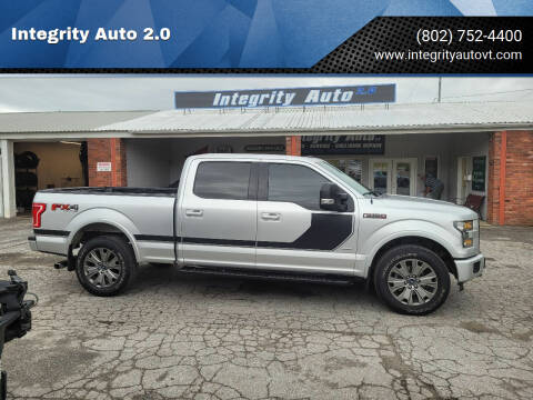 2017 Ford F-150 for sale at Integrity Auto 2.0 in Saint Albans VT