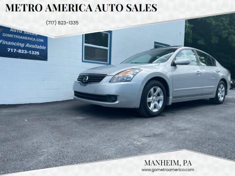 2008 Nissan Altima for sale at METRO AMERICA AUTO SALES of Manheim in Manheim PA