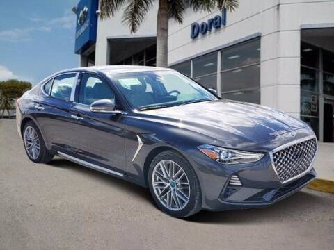 2021 Genesis G70 for sale at DORAL HYUNDAI in Doral FL