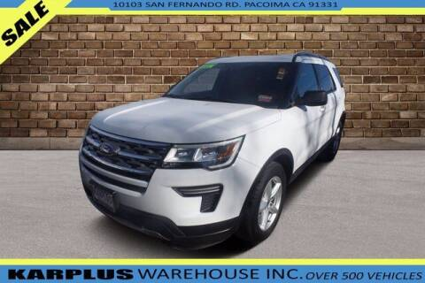 2018 Ford Explorer for sale at Karplus Warehouse in Pacoima CA