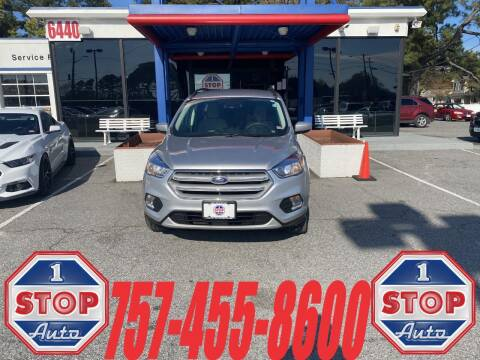 2018 Ford Escape for sale at 1 Stop Auto in Norfolk VA