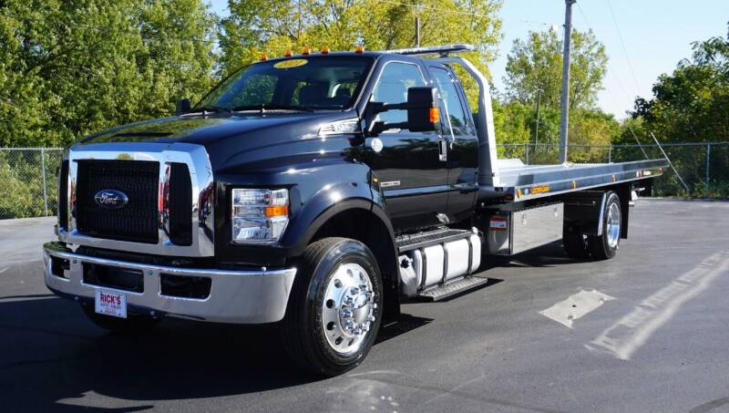 2021 Ford F-750 Super Cab Super Duty for sale at Rick's Truck and Equipment in Kenton OH