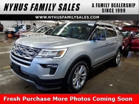 2018 Ford Explorer for sale at Nyhus Family Sales in Perham MN
