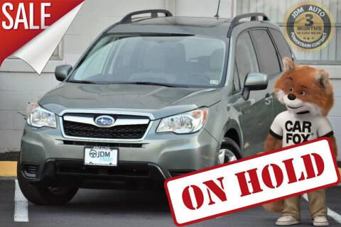 2014 Subaru Forester for sale at JDM Auto in Fredericksburg VA