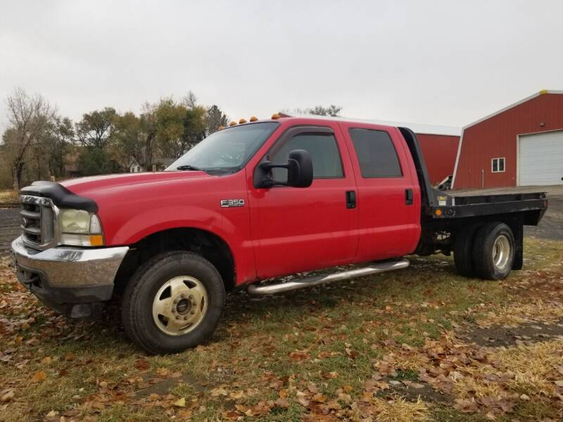 2002 Ford F-350 Super Duty for sale at A & B Auto Sales in Ekalaka MT