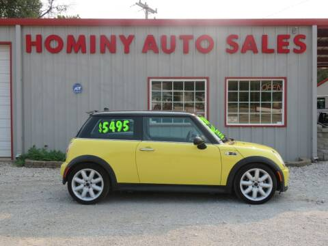 2004 MINI Cooper for sale at HOMINY AUTO SALES in Hominy OK