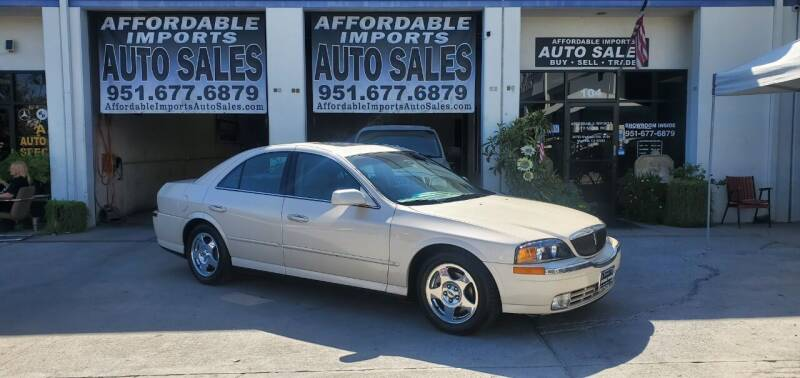 2000 Lincoln LS for sale at Affordable Imports Auto Sales in Murrieta CA
