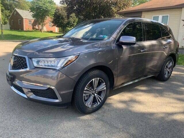 2017 Acura MDX for sale at SPINNEWEBER AUTO SALES INC in Butler PA