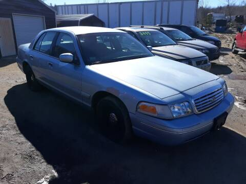 2001 Ford Crown Victoria for sale at Classic Heaven Used Cars & Service in Brimfield MA