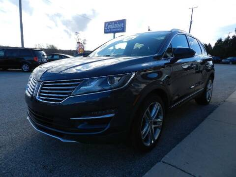 2015 Lincoln MKC for sale at Leitheiser Car Company in West Bend WI