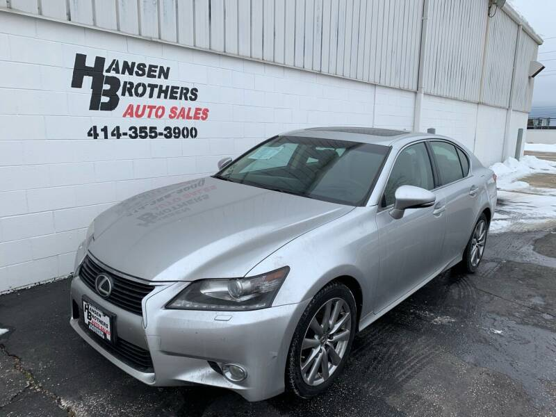 2014 Lexus GS 350 for sale at HANSEN BROTHERS AUTO SALES in Milwaukee WI