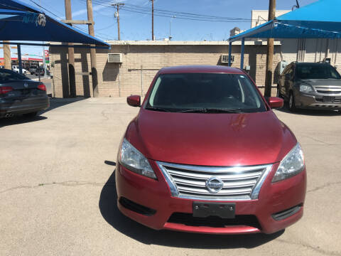 2015 Nissan Sentra for sale at Autos Montes in Socorro TX