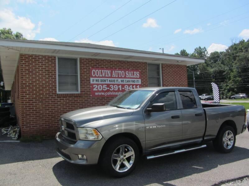 2012 RAM Ram Pickup 1500 for sale at Colvin Auto Sales in Tuscaloosa AL