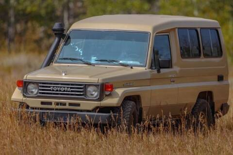 1991 Toyota Land Cruiser for sale at Classic Car Deals in Cadillac MI