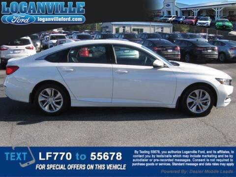 2020 Honda Accord for sale at Loganville Quick Lane and Tire Center in Loganville GA