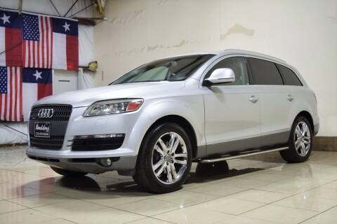 2008 Audi Q7 for sale at ROADSTERS AUTO in Houston TX