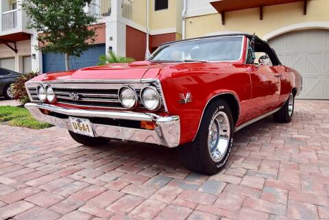 1967 Chevrolet Chevelle for sale at Sunshine Classics, LLC in Boca Raton FL