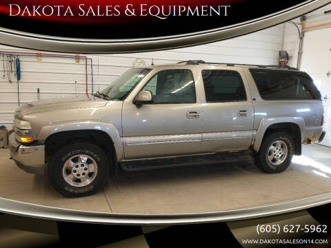 2002 Chevrolet Suburban for sale at Dakota Sales & Equipment in Arlington SD