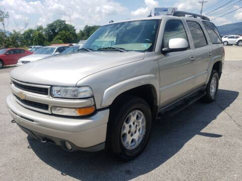 2005 Chevrolet Tahoe for sale at Salem Auto Sales in Salem VA