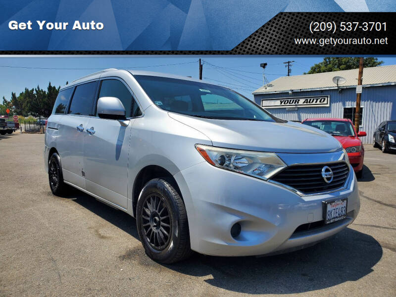 2012 Nissan Quest for sale in Ceres, CA