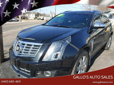 2015 Cadillac SRX for sale at Gallo's Auto Sales in North Bloomfield OH