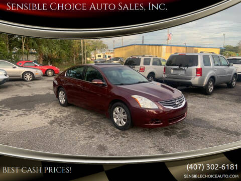 2011 Nissan Altima for sale at Sensible Choice Auto Sales, Inc. in Longwood FL