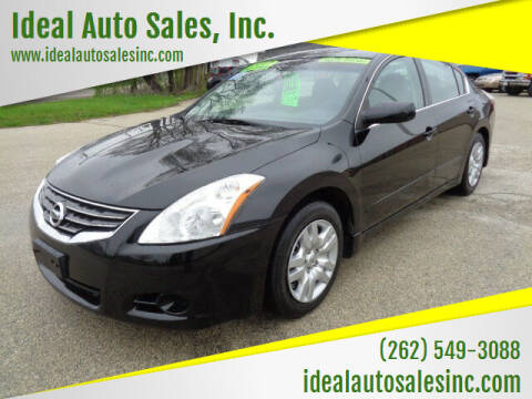 2011 Nissan Altima for sale at Ideal Auto Sales, Inc. in Waukesha WI