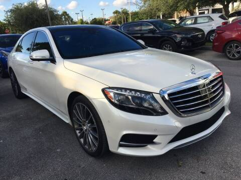 2015 Mercedes-Benz S-Class for sale at DORAL HYUNDAI in Doral FL