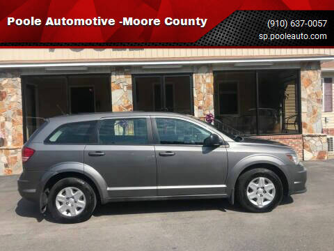 2012 Dodge Journey for sale at Poole Automotive -Moore County in Aberdeen NC